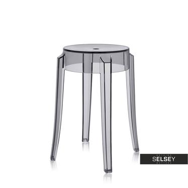 Hocker GEIST grau/transparent 46 cm