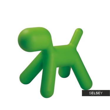 Kinderhocker HUND grün