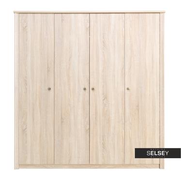 Kleiderschrank DIQA mit 4 Türen