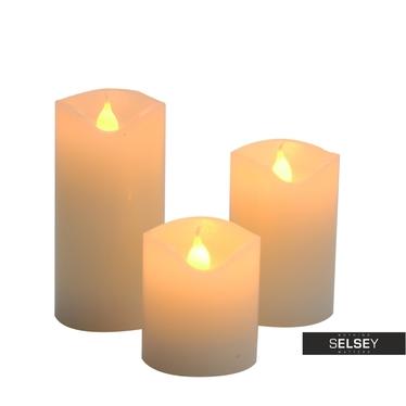 Kerzenset mit LED-Lampen