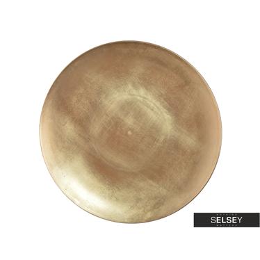 Dekoteller GOLD 45 cm
