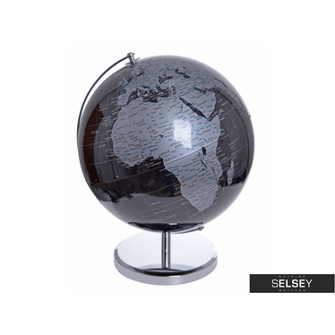 Globus schwarz/grau 32 cm
