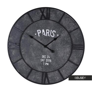 Wanduhr PARIS in Betonoptik