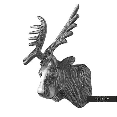 Elchkopf 20 cm aus Nickel