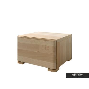 Nachttisch LOPAR mit 1 Schublade (Buchenholz)