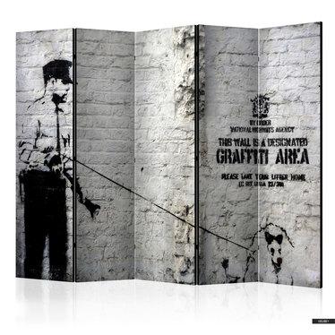 Paravent GRAFFITI AREA (5-teilig)