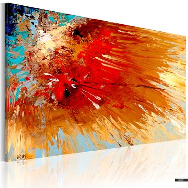 Gemälde EXPLOSION