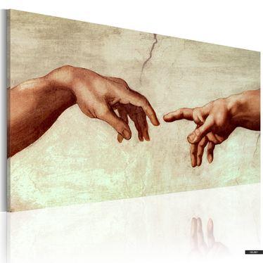 Gemälde SCHÖPFUNG DES MENSCHEN
