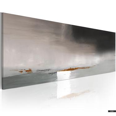 Gemälde AUSDRUCK IN GRAU