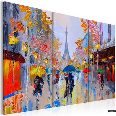 Gemälde PARIS IM REGEN