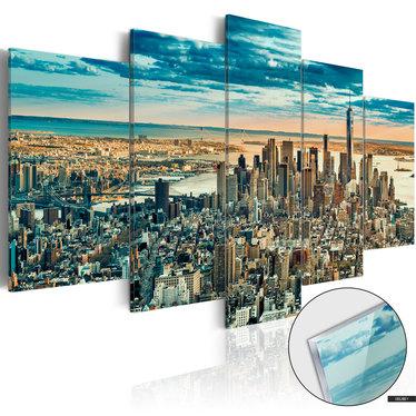 Bild auf Plexiglas NEW YORK – STADT DER TRÄUME
