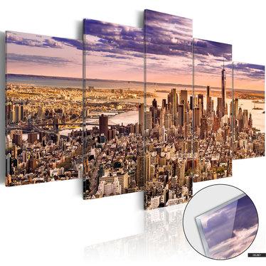 Bild auf Plexiglas SCHLAFLOS IN NEW YORK