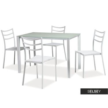Esstisch-Set UNIVERSALIS mit 4 Stühlen