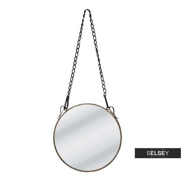 Spiegel mit Kette CAPTAIN'S MIRROR silber 24 cm