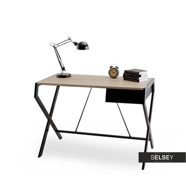 Skandinavischer Schreibtisch DESIGNO schwarz