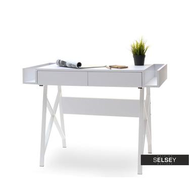 Schreibtisch BORAS in Weiß