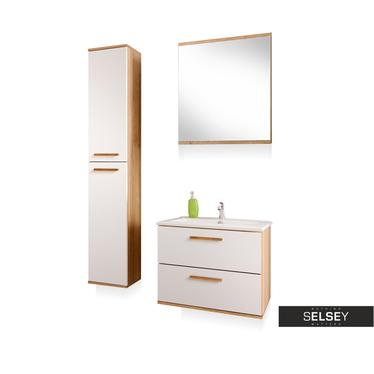 Badezimmermöbel-Set AUSTIN mit Spiegel