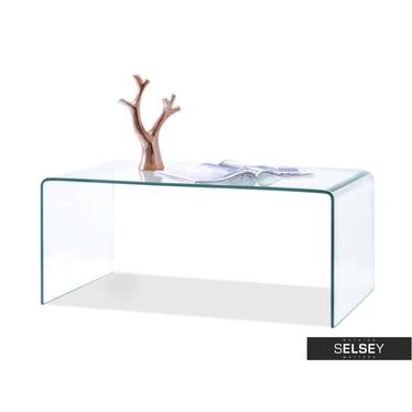 Couchtisch JASPIS 90x50 cm aus Glas