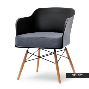 Sessel CUBE II schwarz/Buche