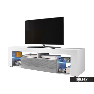 TV-Lowboard BIANKO II optional mit LED 160 cm