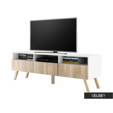 TV-Lowboard LAVELLO WOOD mit LED