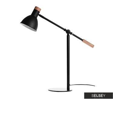 Tischlampe WOODY BLACK