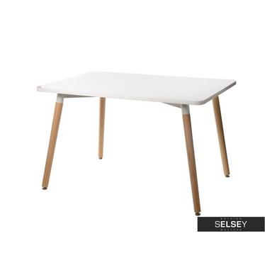 Esstisch COPINE 120 x 80 cm in Weiß