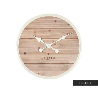 Wanduhr PLANK 50 cm aus Holz