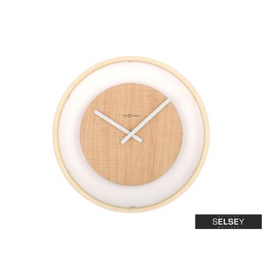 Wanduhr WOOD LOOP 30 cm aus Holz