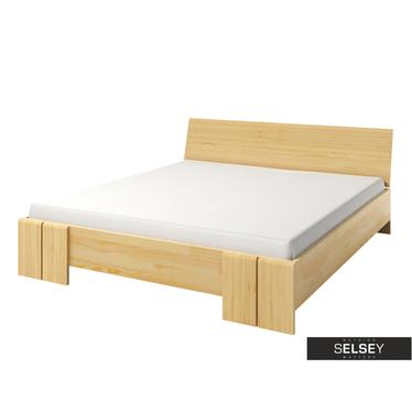 Bett LOKE mit Lattenrost (Kiefernholz)