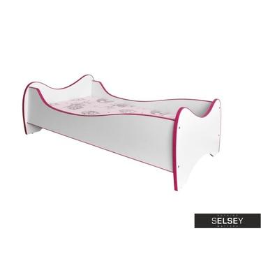 Kinderbett FOLX weiß/rosa