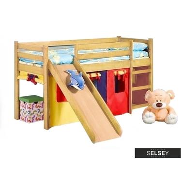 Kinderbett MERYL mit Rutsche