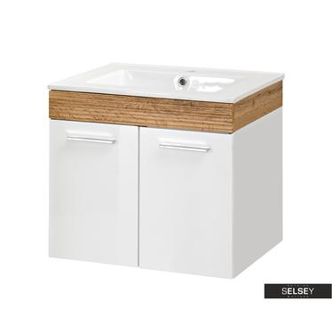 Waschbeckenunterschrank NATURIA 50 cm