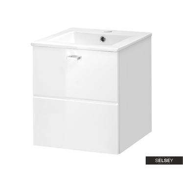 Waschbeckenunterschrank MARBELLA weiß 40 cm