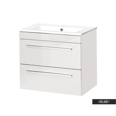 Waschbeckenunterschrank MALTA weiß 60 cm