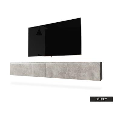 TV-Lowboard KANE hängend, optional mit LED 180 cm (Farbauswahl)
