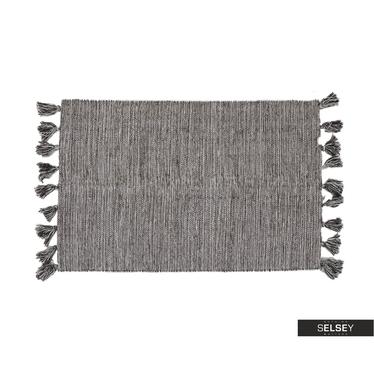 Teppich ASHTON mit Fransen 90x60 cm
