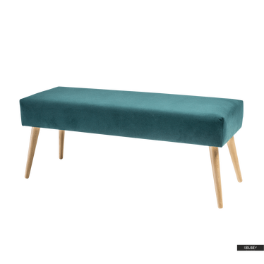 Sitzbank NAOMI mit Holzbeinen