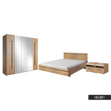 Schlafzimmer-Set JUVEN in Grandson Eiche