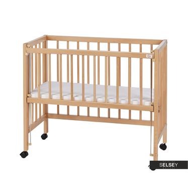Babybett BABY höhenverstellbar mit Matratze