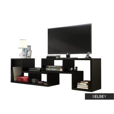 TV-Lowboard YINNALA mit Regal und Couchtisch in Einem
