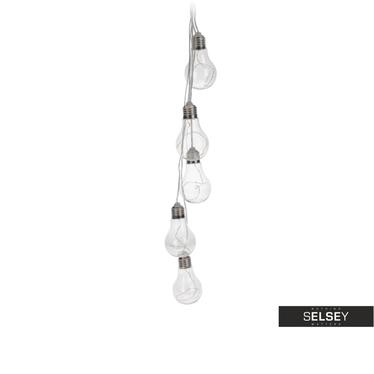 Girlande GLÜHBIRNE mit LED-Lampen, 6x6x10