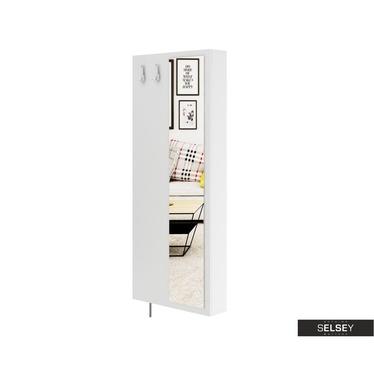 Garderobenschrank DURIAN mit Spiegel und 2 Haken