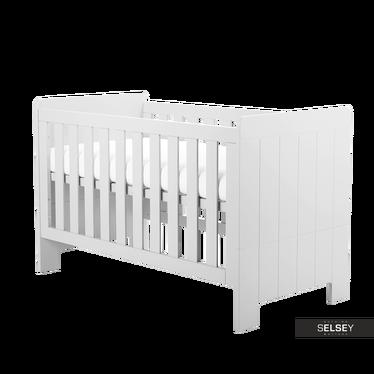 Baby- und Kinderbett CALMO weiß umbaubar