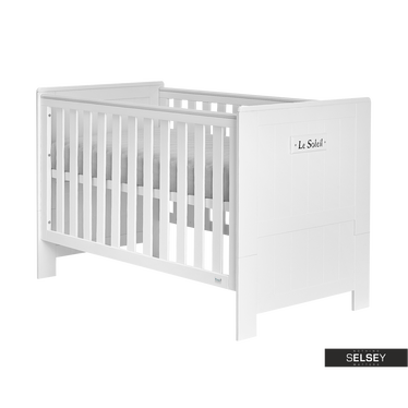Baby- und Kinderbett MARSEILLE umbaubar