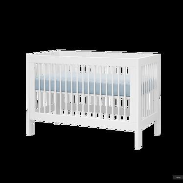 Baby- und Kinderbett BASIC umbaubar 60x120 cm