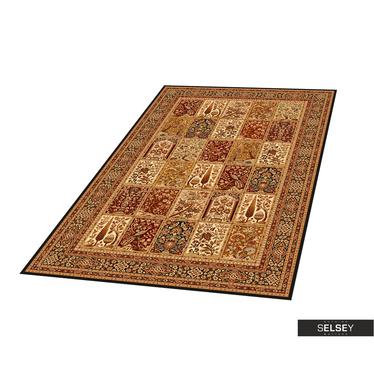 Teppich PERSIA braun/bordeaux