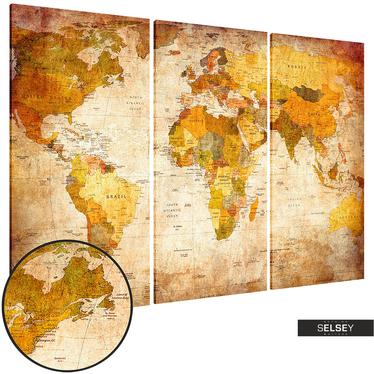 Wandbild ANTIKE REISEN 60x40 cm
