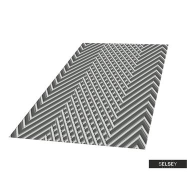 Teppich HILLY ABSTRAKT II Platin