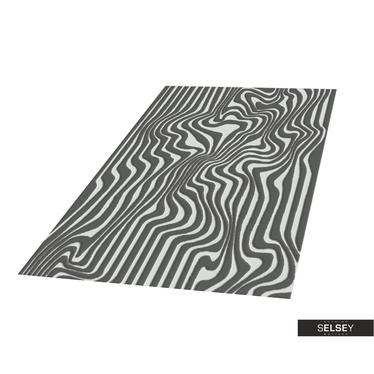 Teppich HILLY ABSTRAKT III Platin